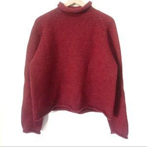 J. Crew | Red Wool Sweater